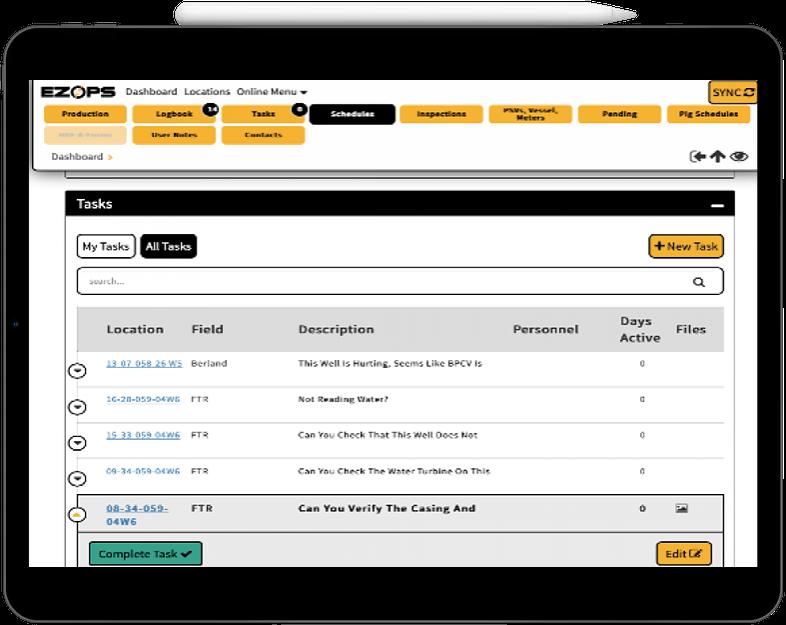 data log screenshot